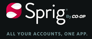 Sprig By Co-op All Your Accounts, One App