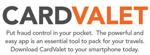 CardValet Put Fraud Control in Your Pocket.